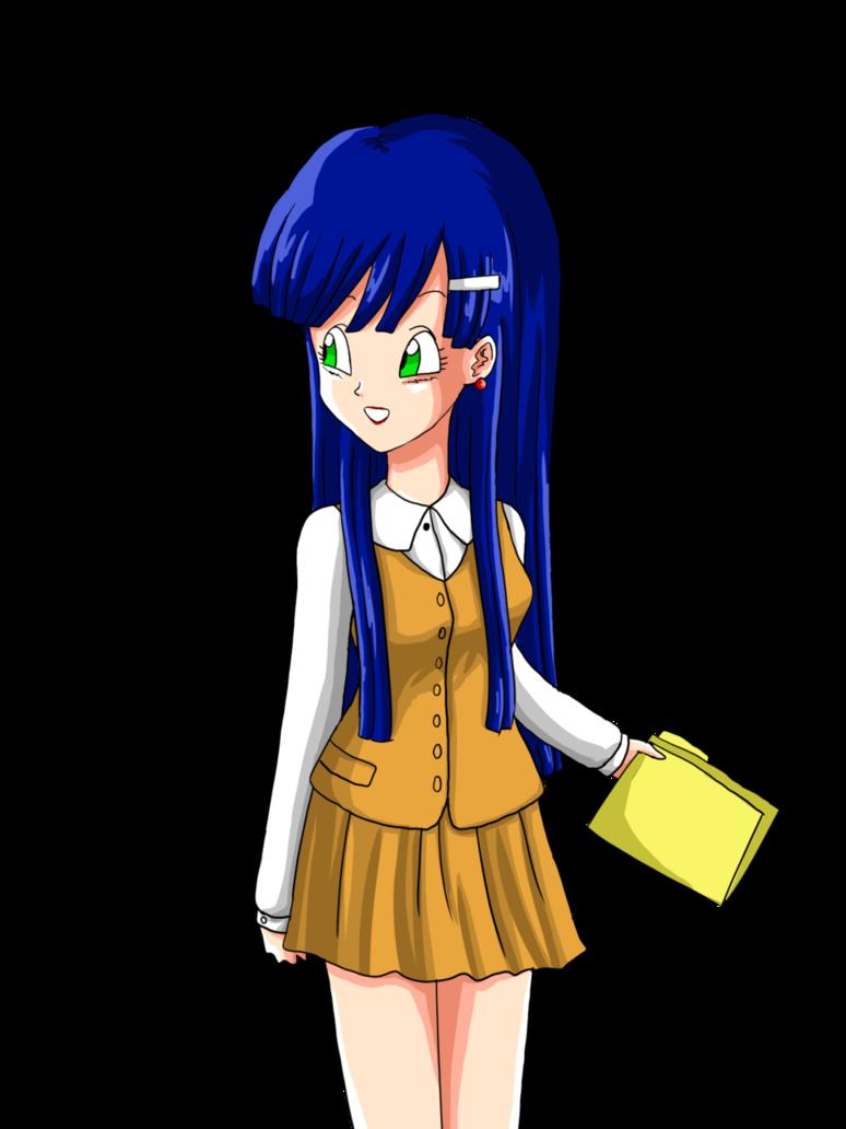 Anime clipart deviantart. Lavenda dbgt capsule corp