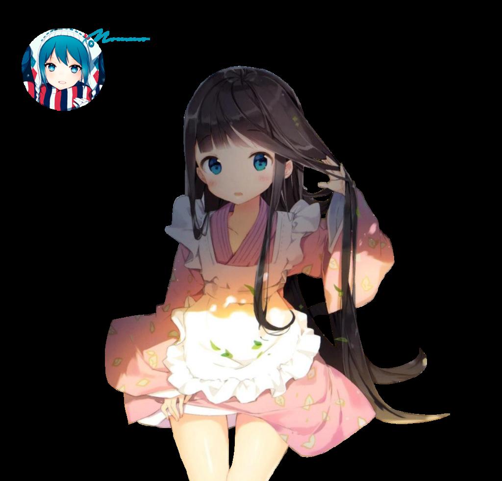 Anime clipart deviantart. Girl render by mommo