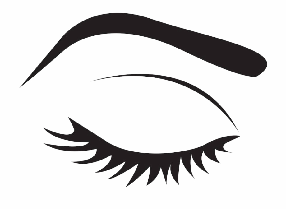 Anime clipart eye brows. Cartoon eyebrow makeup icon