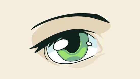 Anime clipart eye brows.  ways to draw