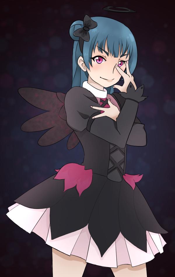 Yohane by softfoam on. Anime clipart fallen angel