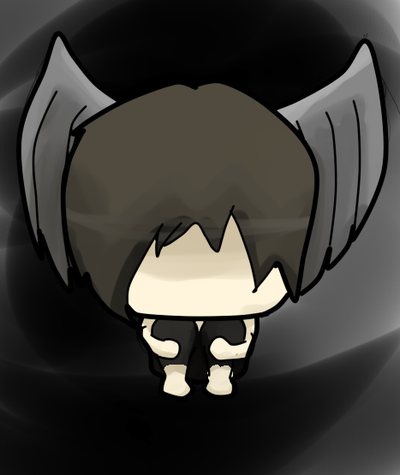 Chibi by theturdheartbeat on. Anime clipart fallen angel