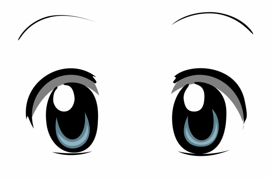 Anime clipart file. Bright eyes transparent png