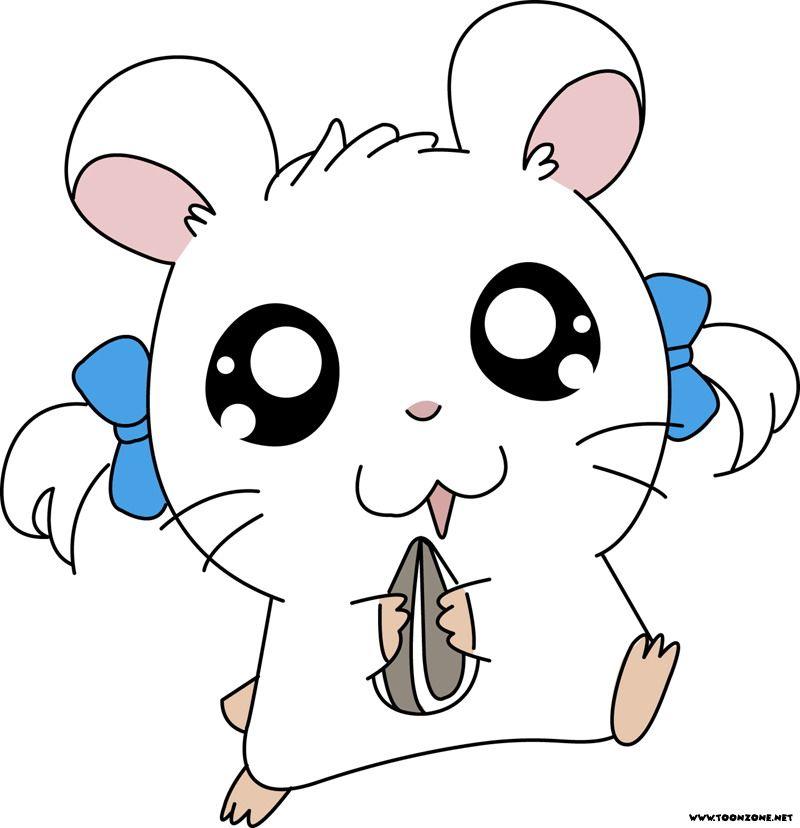 Anime clipart hamtaro. Colitas animes pinterest cartoon