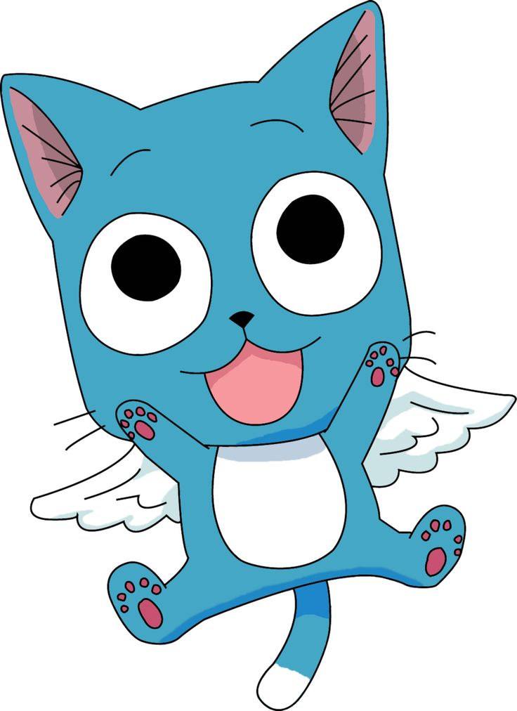 best fairy tail. Anime clipart happy