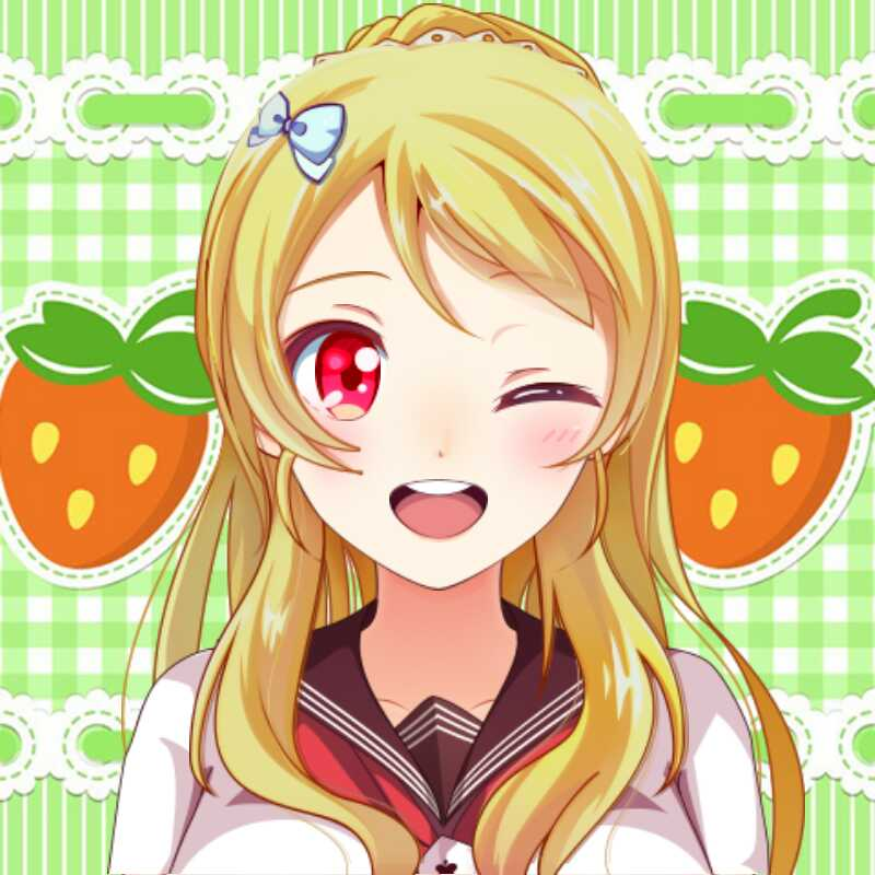 Anime clipart happy. A girl for you