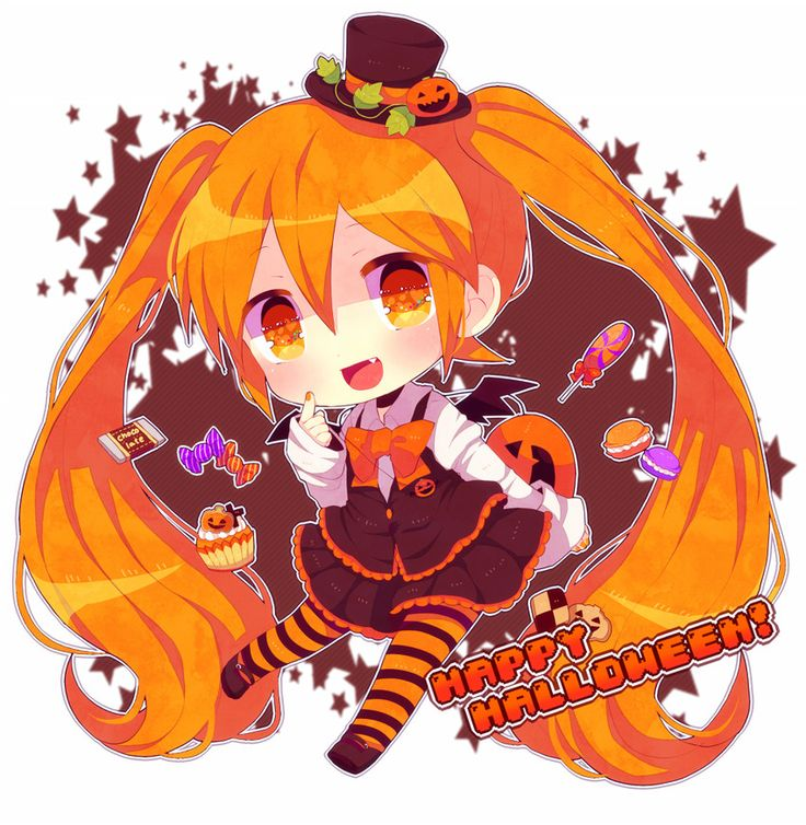 best halloween images. Anime clipart happy