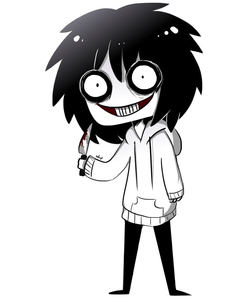 Chibi jeff the doodle. Anime clipart killer