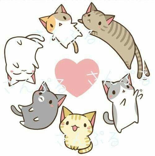 Anime clipart kitten. Kittens background pinterest game