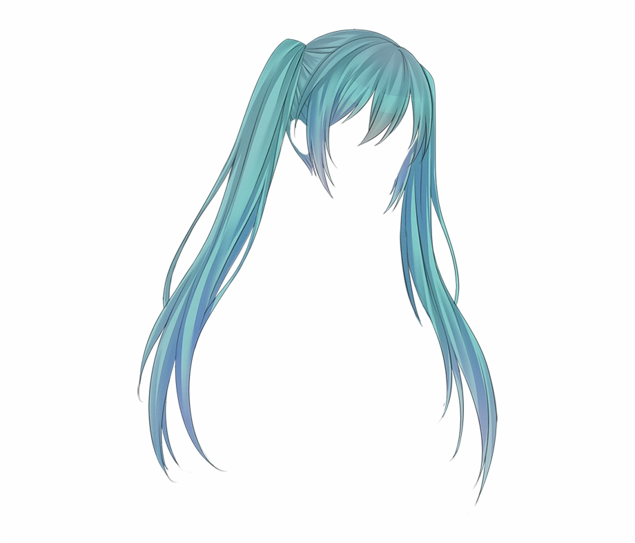 Anime clipart long hair. Png transparent hatsune miku