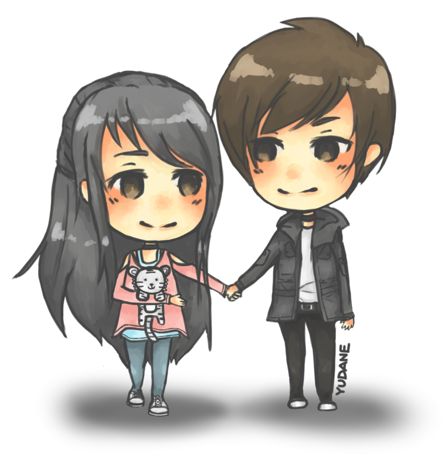 Couple png images transparent. Anime clipart lover