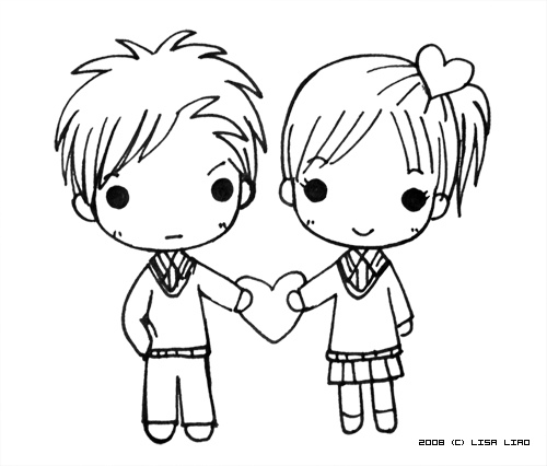 Free love drawings download. Anime clipart lover