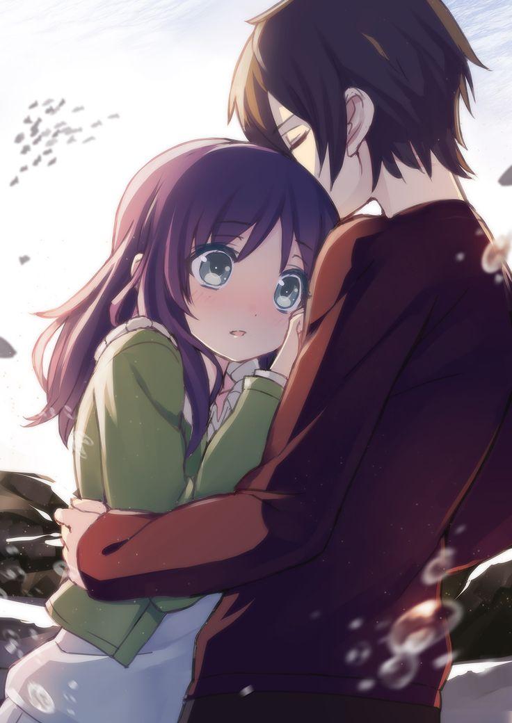 Free cute couple cartoon. Anime clipart lover
