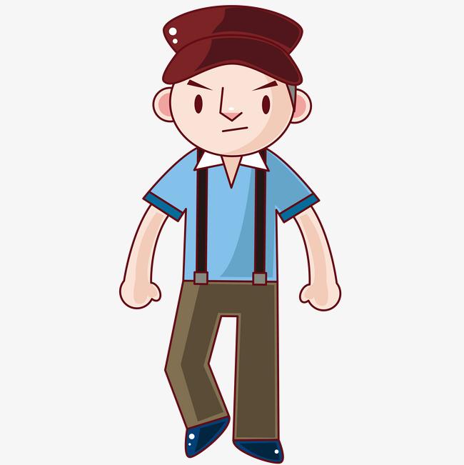Anime clipart male. Boys hat belt pants