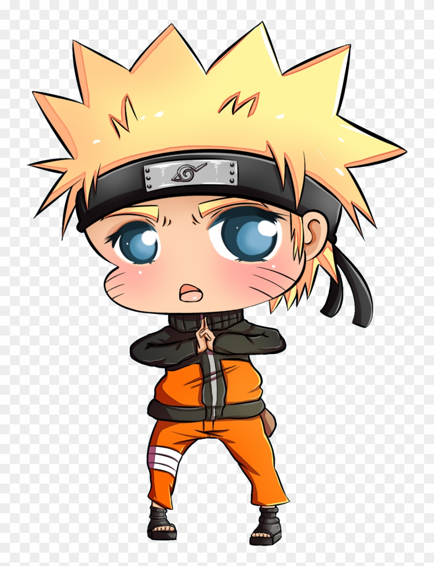 Chibi by pink clip. Anime clipart naruto
