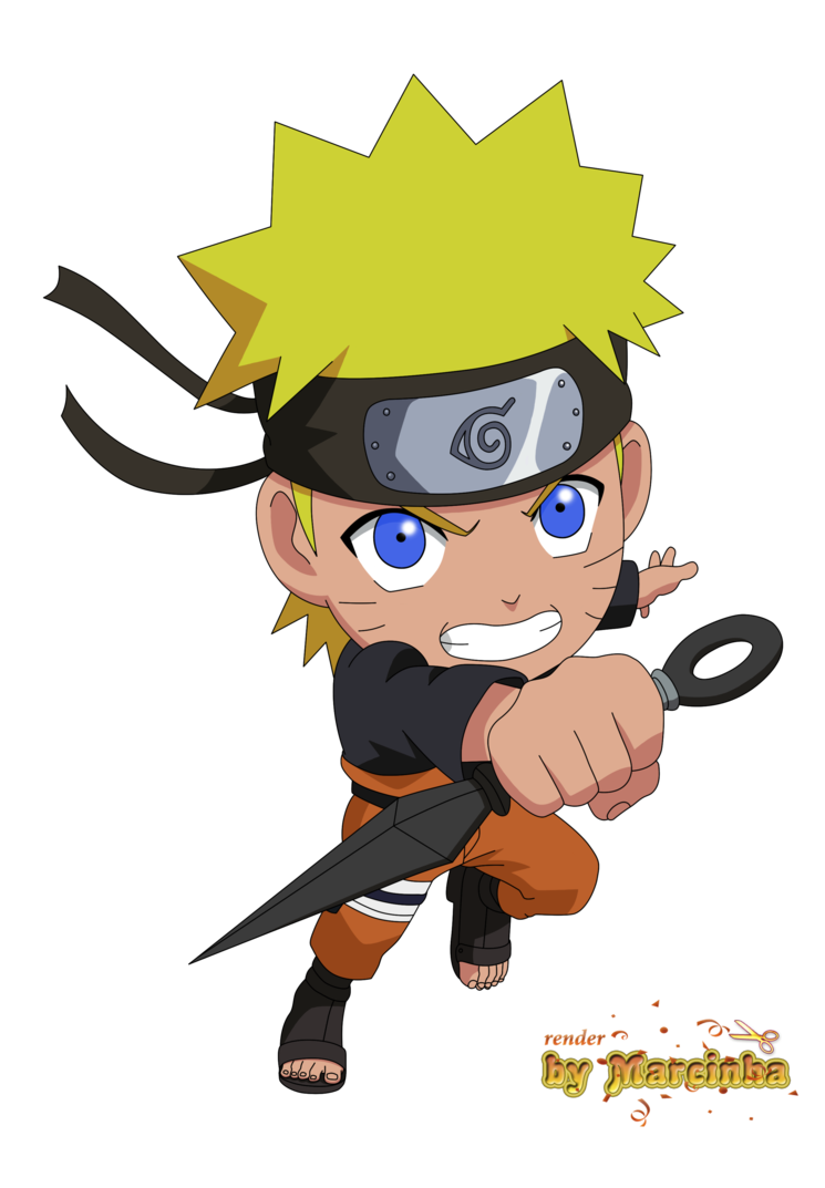 Png chibi by marcinha. Anime clipart naruto shippuden