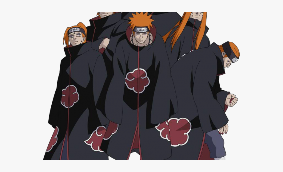 Anime clipart naruto shippuden. Pain bad guy