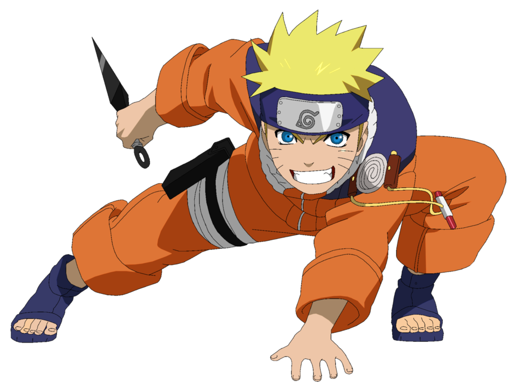 Pts lineart colored by. Anime clipart naruto uzumaki