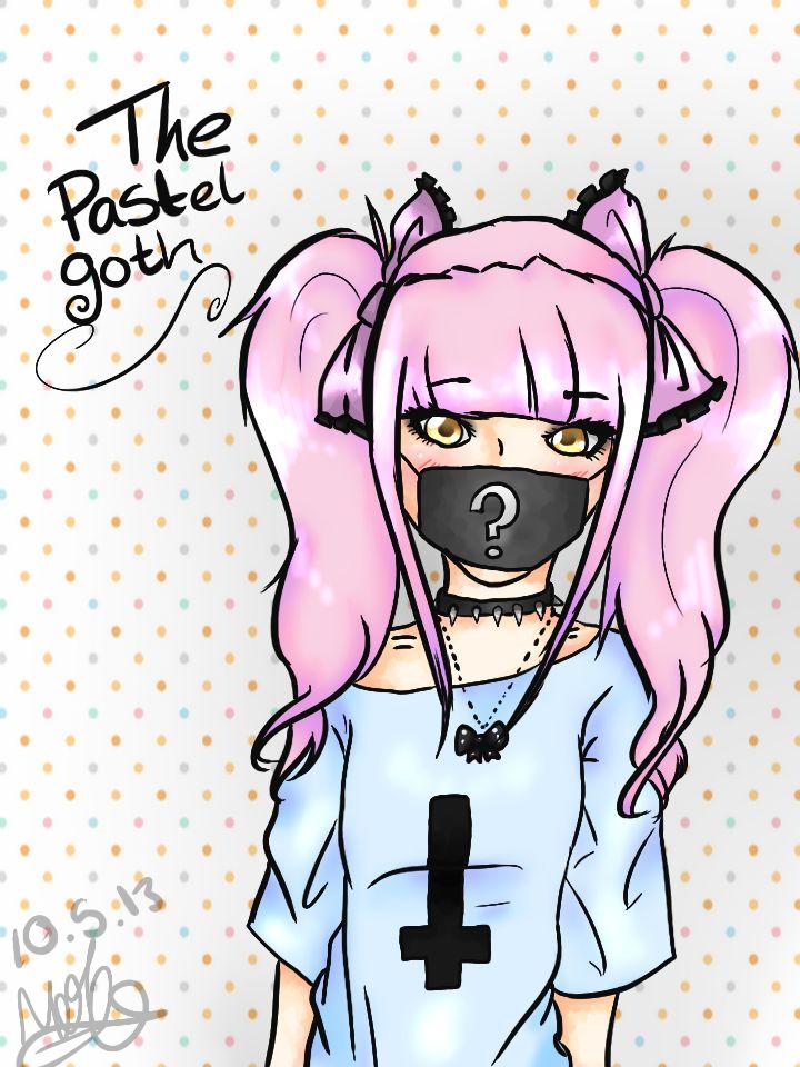 best gothic shtuff. Anime clipart pastel