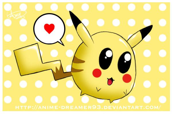 By dreamer on deviantart. Anime clipart pikachu