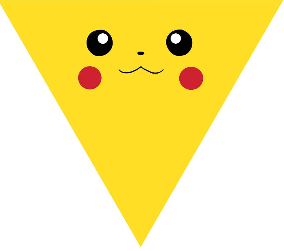 Pokemon shape logo white. Anime clipart pikachu