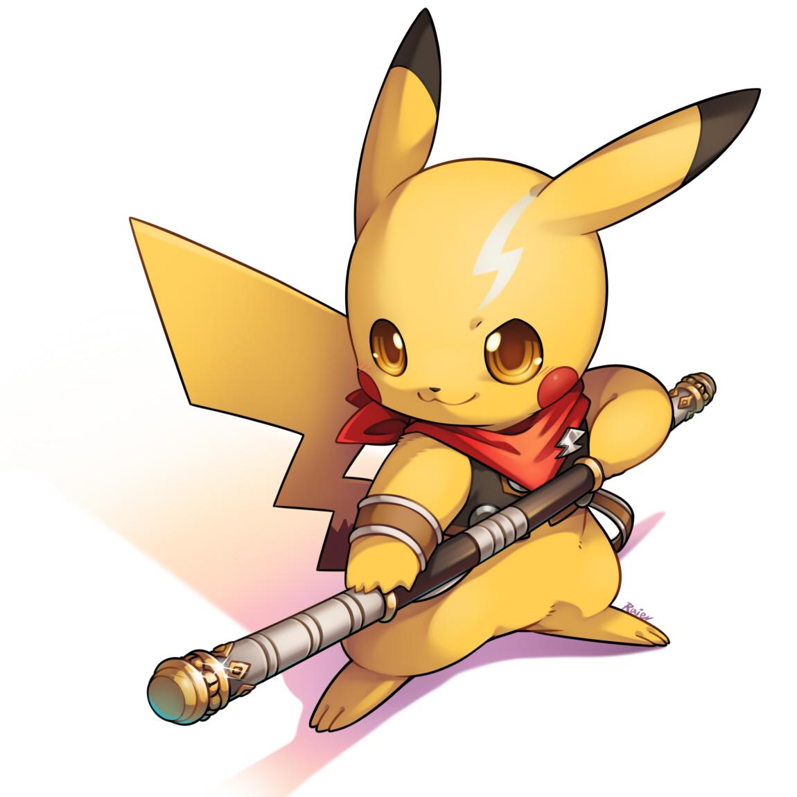 Anime clipart pikachu. Pok mon image zerochan