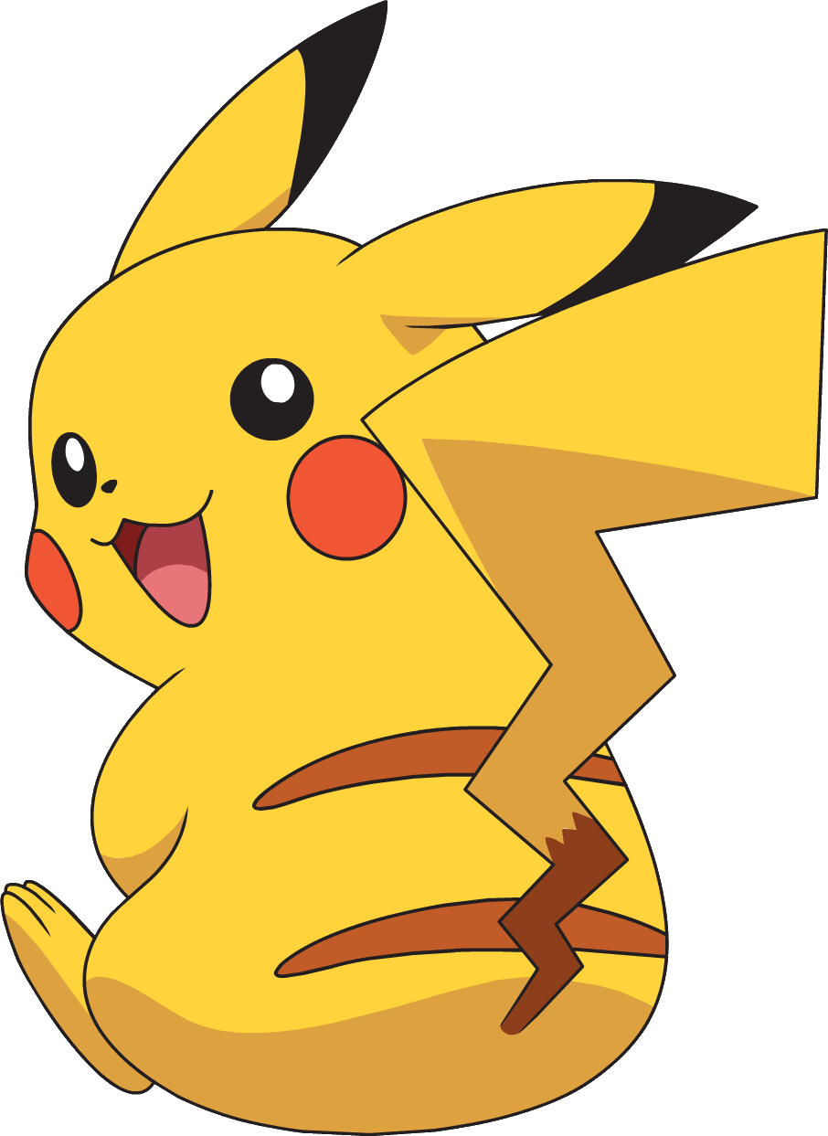 Image ag png pok. Anime clipart pikachu