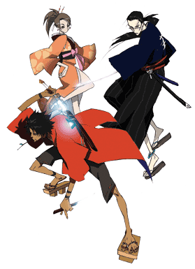 Champloo tv tropes. Anime clipart samurai