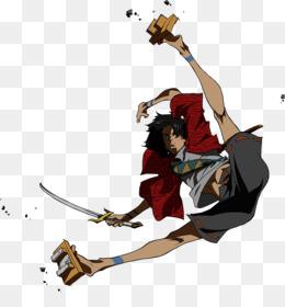 Anime clipart samurai. Mugen animation character pub