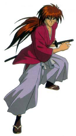 Rurouni kenshin x opening. Anime clipart samurai