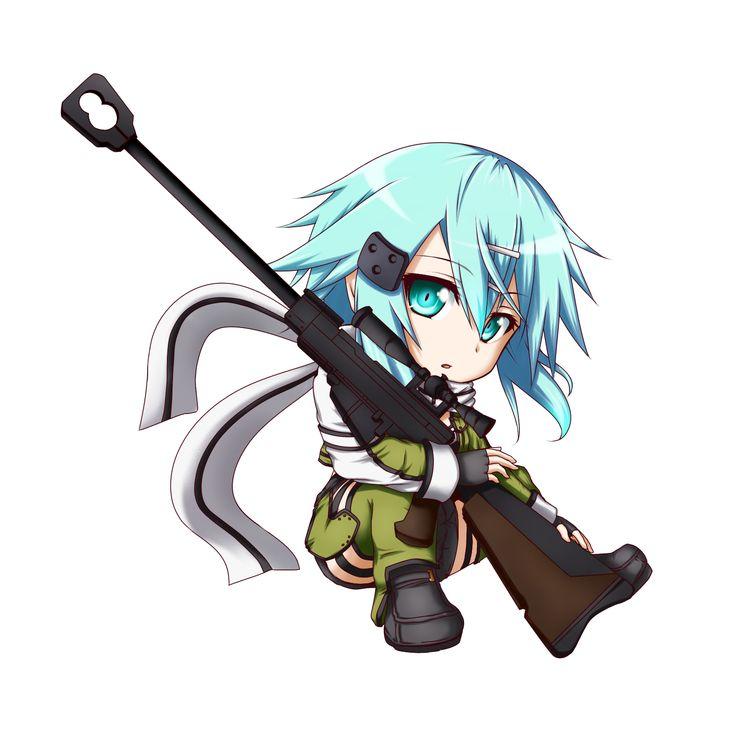 best chibi images. Anime clipart sniper