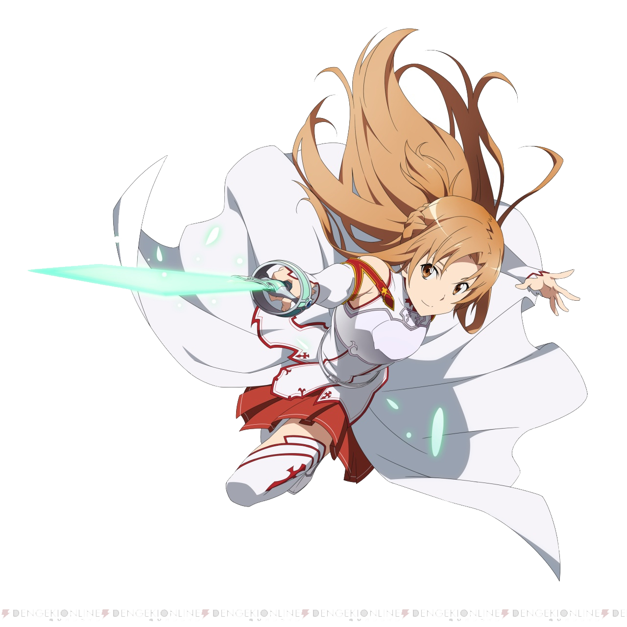 Asuna png mart. Anime clipart transparent background