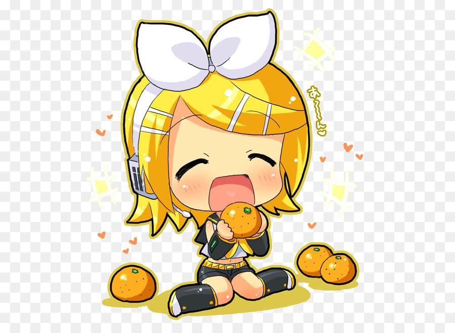 Kagamine rin len chibi. Anime clipart vocaloid