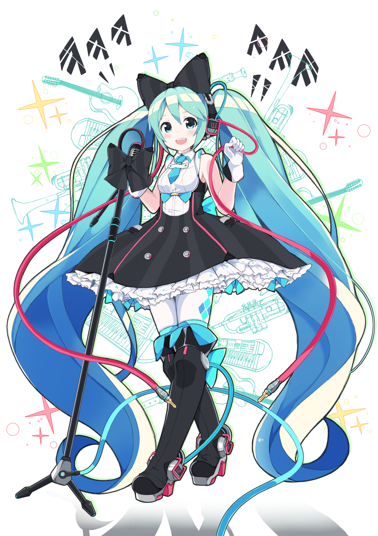Anime clipart vocaloid. Hatsune miku mobile wallpaper