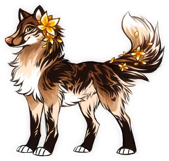 Animated collection best wolfs. Anime clipart wolf