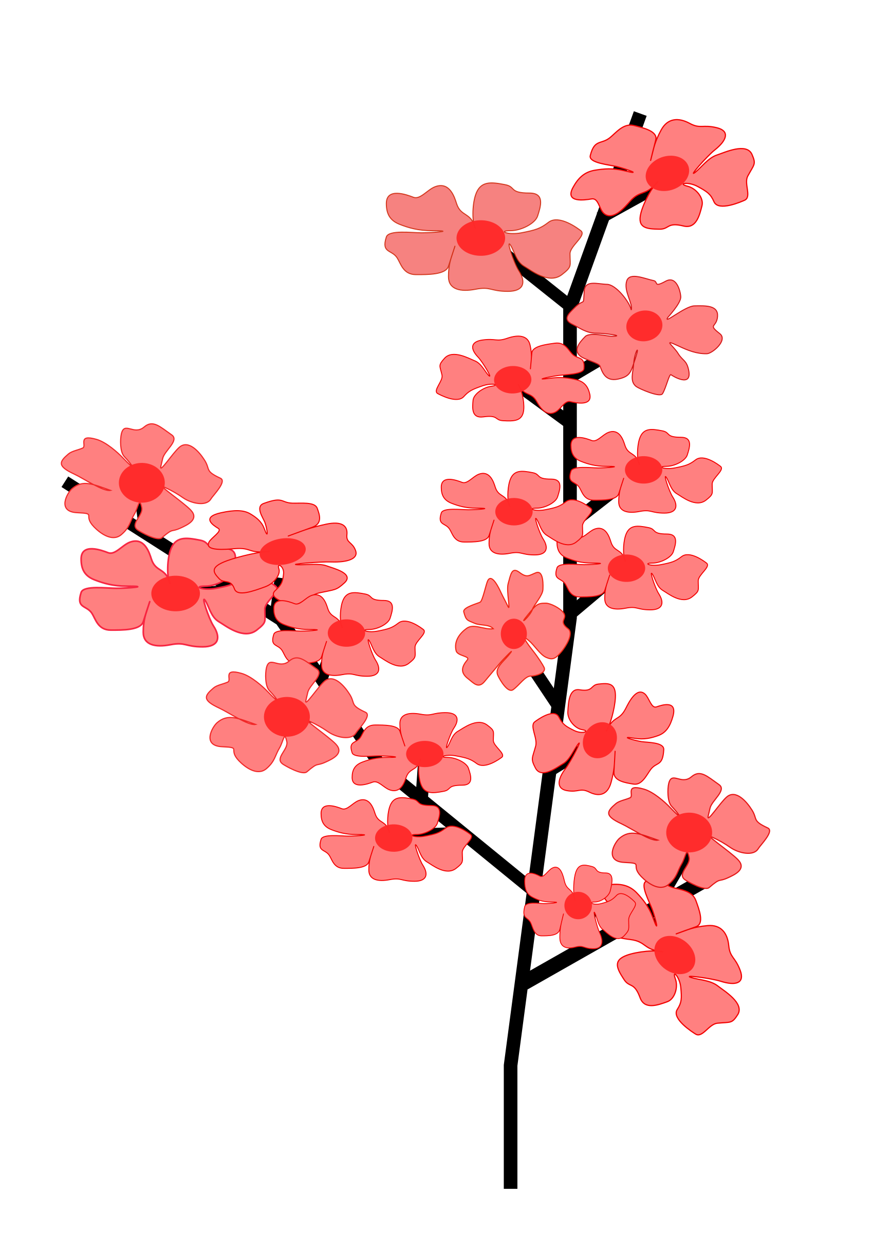 Anime flower png. Flowers sakura icons free