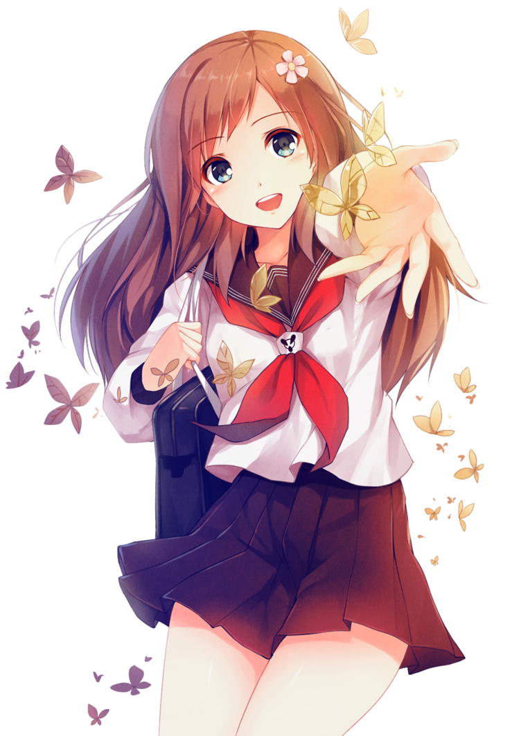 Image girl transparent community. Anime png images