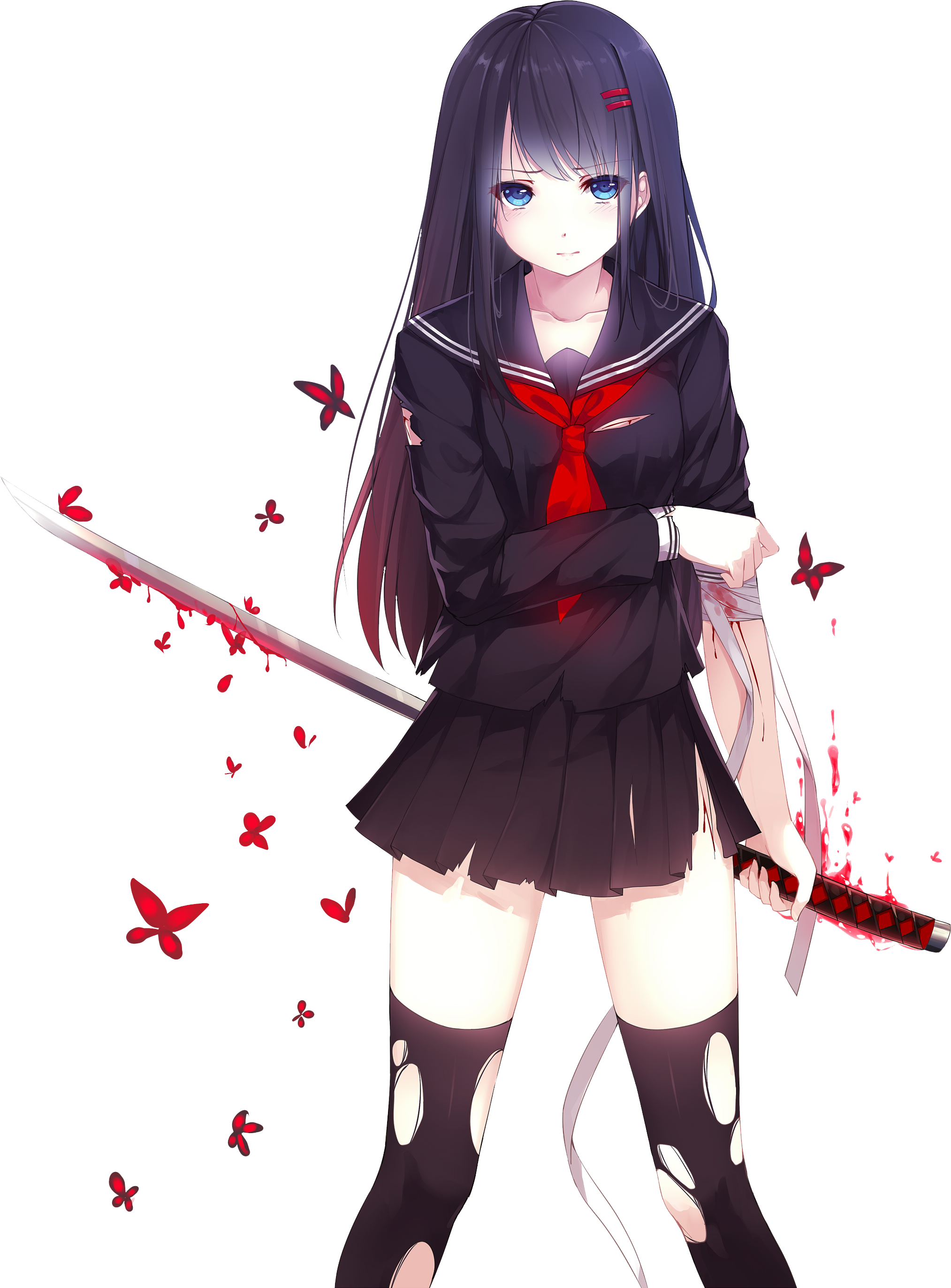 Anime png images. Deviantart more like girl