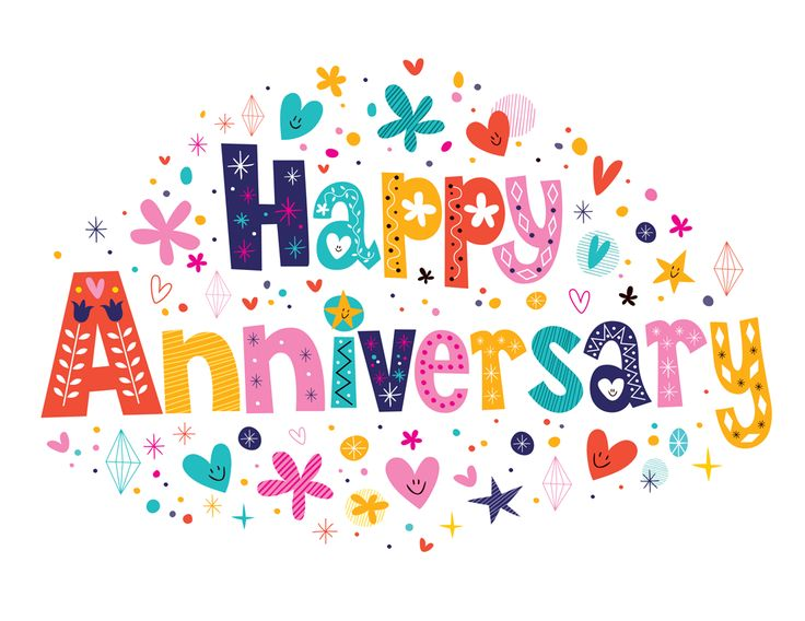 Anniversary clipart 1 year.  best happy images