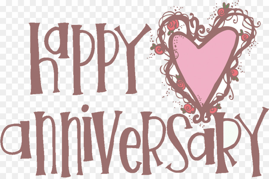 Happy year png wedding. Anniversary clipart 13th