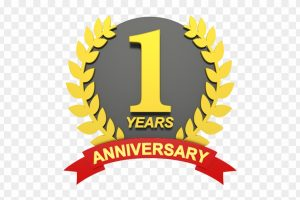 Anniversary clipart 1st.  st year portal