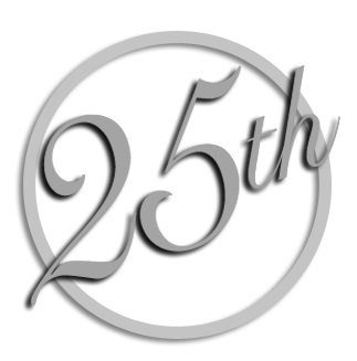 Anniversary clipart 25 year. Free silver th