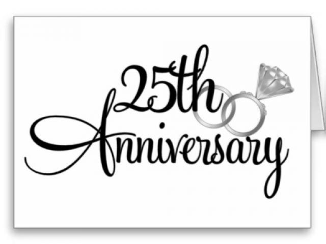 Decorations cliparts free download. Anniversary clipart 25 year