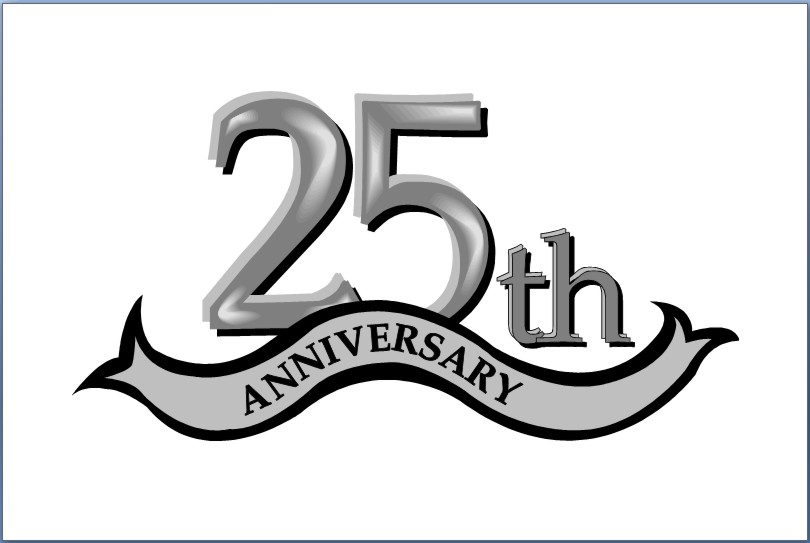Anniversary clipart 25 year. Friday period hours or