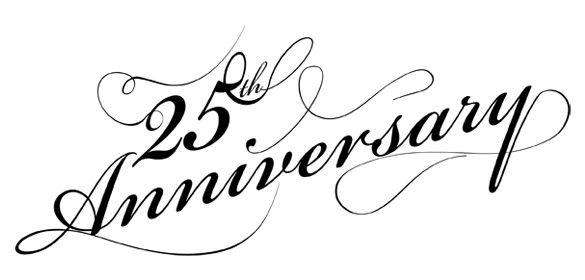Free th clip art. Anniversary clipart 25 year