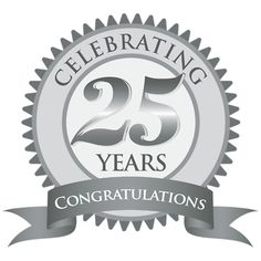 Anniversary clipart 25 year. Free th cliparts download