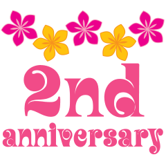 nd year clip. Anniversary clipart 2nd