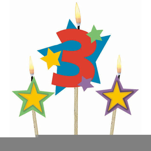 Happy rd free images. Anniversary clipart 3rd