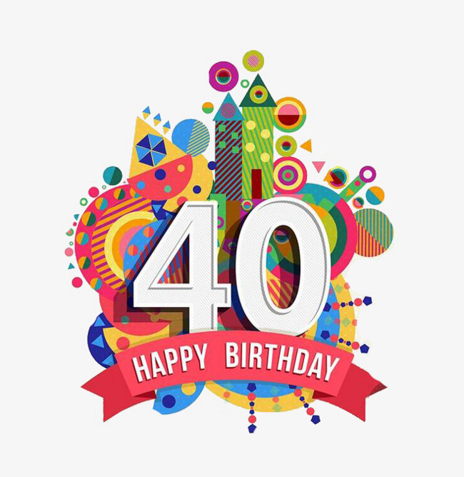 Anniversary clipart 40 year. Castle th design originality