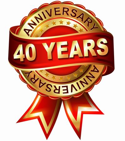 Anniversary clipart 40 year.  th celebration ouellette